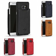 For Samsung Galaxy Note 7 Wallet Sleek Designer Leather Closing Case Card Slots