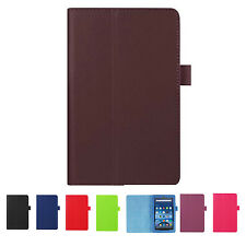 For Amazon Kindle Fire HD 7 2015 Tablet PU Leather Case Stand Cover (Brown) SP