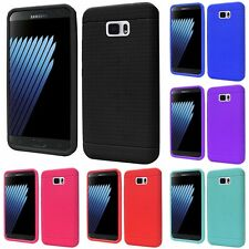 For Samsung Galaxy Note 7 Rugged Thick Silicone Grip Soft Skin Case Cover