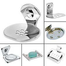 Doyours Anti-corrosive Stand Mirror Finish Soap Dish Holder Bathroom Accessories