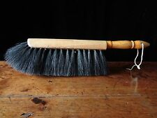 Vintage Horsehair & Bristle Bench Brush EX 3 Gerts & Co Lumbard Full Thick Large