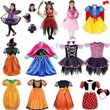 Girls Kids Pirate Fairy Halloween Cosplay Costume Outfits Party Fancy Tutu Dress