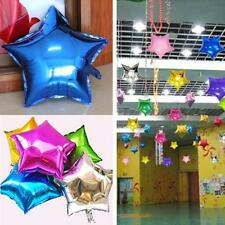Birthday Party Supplies 18 Inch Foil Balloons Helium Star