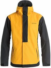 Quiksilver Cadmium Yellow Ambition Snowboarding Jacket