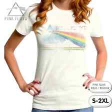 Official PINK FLOYD T-Shirt/Rainbow Prism,Relic,Retro Reissue,Juniors Rock Tee