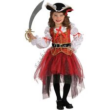 Girls Kids Pirate Halloween Cosplay Party Fancy Dress up Children Outfit Costume
