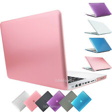 """For Macbook Pro 13 A1708/A1706/15"""" A1707 Rubberized Hard Case Shell Cover 2016"""