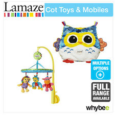 Tomy Lamaze Cot Toys & Mobiles Baby Nursery Full Range! Sooth with Lights & Soun