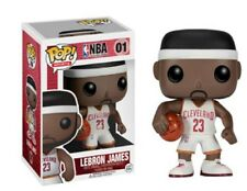 Authentic Funko Pop! Lebron James #01 White Home Jersey Cleveland CAVS