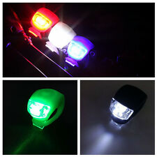 Bicycle Safety Outdoor LED Frog Light Warning Lamp Bike Front / Rear Silicone