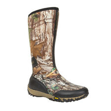 Rocky SilentHunter Mens Realtree Rubber Insulated Waterproof Hunting Boots