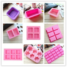 Silicone Ice Cube Candy Chocolate Cake Cookie Cupcake Soap Molds Mould DIY d1