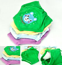 4 pcs Baby Infant Girl Boy 4 Layers Waterproof Potty Training Pants Reusable PHD
