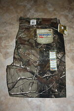Wrangler Pro Gear 5 Pocket Relaxed Over Boots Camo Hunting Pants NEW XXL Sizes