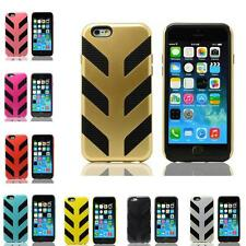 """Hybrid Armor Impact Defender Case Hard Soft Rubber Cover For iPhone 4.7"""" 5.5"""""""