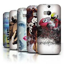STUFF4 Back Case/Cover/Skin for HTC One/1 M8/Fragments