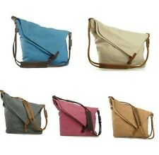 Korean Vintage Canvas Fashion Shoulder Messenger Bag School Bag Satchel Bag