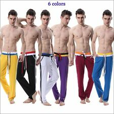 Men's mesh wicking sweat Gym casual pants Yoga pants sports jogging trousers