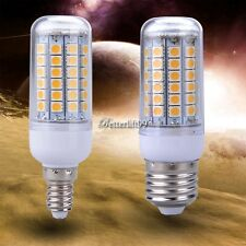 5W E27/E14 LED Corn Bulb Lamp 69LED Warm White 5050SMD Energy Light 200V-240V BF