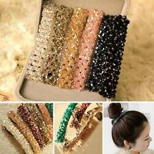 Accessories Bling Headwear Hair Clip Hairpin Barrette Crystal Rhinestone