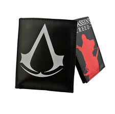 New listing game  Assassin's Creed logo peripherals men's figure Leather Wallet