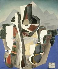 "DIEGO RIVERA Painting Poster or Canvas Print ""Zapata-style Landscape"""