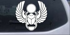 Egyptian Scarab Beetle Car or Truck Window Laptop Decal Sticker 4X3.8