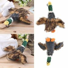 Cute Pet Dog Puppy Stuffed Squeaking Toy Plush Honking Duck Puppy I6