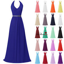 Stock Formal Long HOT Wedding Bridesmaid Dress Prom Ball Party Evening Gown 6-20