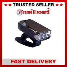 Moon GEM 2.0 USB Rechargeable Mountain Bike Cycle 3 LED Lights Front Rear or Set