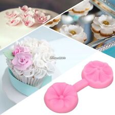 Silicone Flower DIY Cake Fondant Decorating Baking Mold Mould Sugar Craft Tools