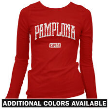 Pamplona Spain Women's Long Sleeve T-shirt - LS S-2X - Gift España Navarre Bulls