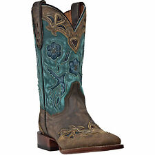 Dan Post Cowboy Certified Womens Copper Sanded Leather CC Bluebird Boots