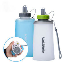 750ml Silicone Collapsible Folding Water Bottle Kettle Cup Drinking Bag