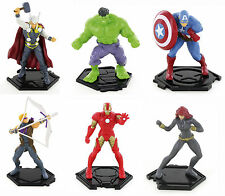 Comansi Marvel Avengers Superhero Toy Figures Cake Decorating Topper Official