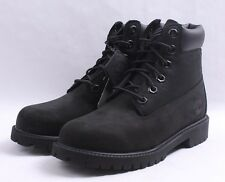 "Timberland 6"" Premium Construction Boots GS # TB0 12907 Black Big Kid SZ 4 - 7"