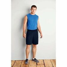 New Gildan Performance Shorts Mens Adult Gym Sports Two Side Pockets Casual Wear