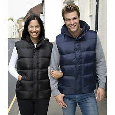 Result Core Nova Padded Bodywarmer Mens Womens Waterproof Stylish Jacket Gilet