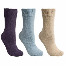 Trespass Ladies Alert Winter Socks Womens Soft Durable Warm Knit Hosiery Socks