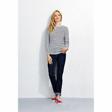 SOL'S Ladies Marine Long Sleeve Stripe T-Shirt