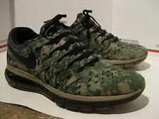 Pre Owned Used Worn Trashed Nike Training Camo Athletic Running Shoes Mens Sz 10
