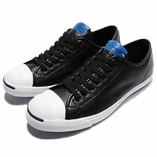 Converse Jack Purcell LP Leather Black White Casual Shoes Sneakers 156377C