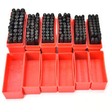 Steel Punch Stamp Die Set Metal 27pcs Stamps Letters Alphabet Craft Tools bos
