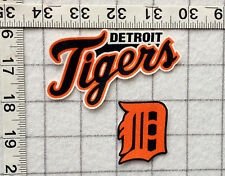 DETROIT TIGERS MLB Iron On Fabric Appliques No Sew 5 different sets FREE SHIP