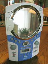 jWIN ~ WATER RESISTANT SHOWER CD Player/CLOCK RADIO ~ AM/FM ~ Works Great!