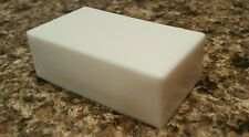 Shea Butter white homemade glycerin soap big 4 ounce bars YOU CHOOSE SCENT x 5