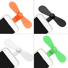 NS Portable Micro USB Cooling Fan Mute Mini Cooler For Mobile Android Cell Phone