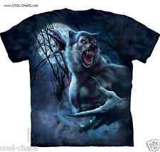 3D Attack of the Werewolf T-Shirt/Awesome Tie Dye Tee,Tom Wood Horror Tee