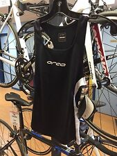ORCA RACE TRI SINGLET - WOMEN, BLACK, ALL SIZES AVAILABLE, NEW! Reg $80