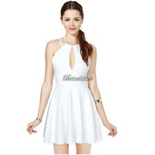 New Sexy Womens Summer Backless Casual Party Evening Cocktail Short Mini Dress